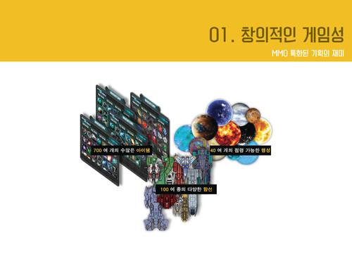 코즈믹 온라인 게임소개서 - 섬네일 11page