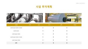 펄프 제조업 자금조달용 사업계획서 #23