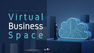 가상 비즈니스 공간 (Business) PPT 템플릿