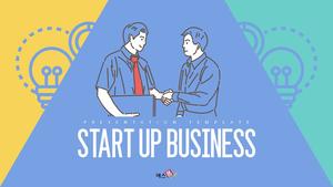 Startup Business 피피티 템플릿
