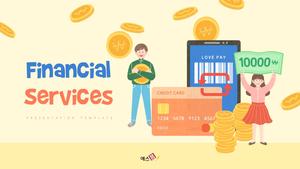 금융 서비스 (Financial Services) PPT 템플릿