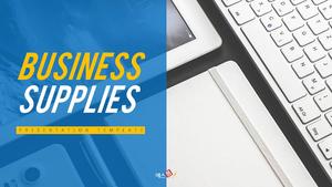 사무용품 (Business) PPT 템플릿