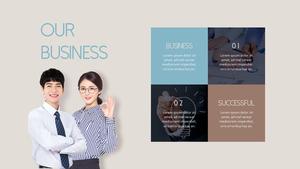 Successful Business (비즈니스) 피피티 템플릿