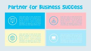 사업 파트너 (Business Partner) 피피티 템플릿