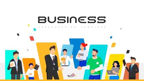 비즈니스 PPT 배경템플릿 (Business)