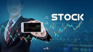 Stock 주식 & 금융 피피티 배경