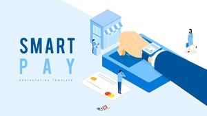 스마트 페이 (Smart Pay) 피피티 템플릿
