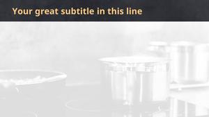 주방도구 (전자) 파워포인트 디자인