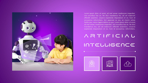 AI 인공지능 (첨단, 기술) PPT 템플릿