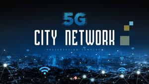 5G Network (5세대 이동 통신) PPT 템플릿