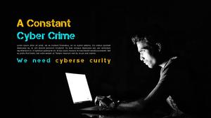 Cyber Security (IT) PPT 배경템플릿