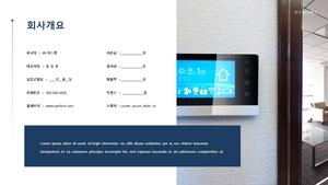 가정용 디스플레이 신년도 사업계획서 (제조업)
