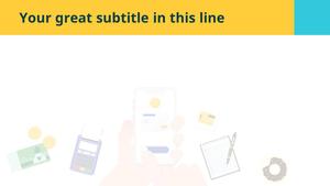 모바일 서비스 (IT) PPT 배경템플릿