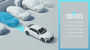 Smart Drive (자동차, 기술) 피피티 템플릿