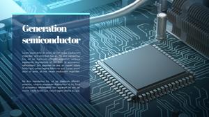 반도체 (기술, 산업) PPT 템플릿