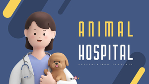 동물병원 PPT표지 (Animal Hospital)