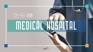 Medical Hospital (의료, 의학) 피피티 템플릿