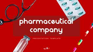 제약 회사 (약학) presentation 템플릿