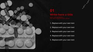 알약 (약학) Powepoint 배경 - 와이드
