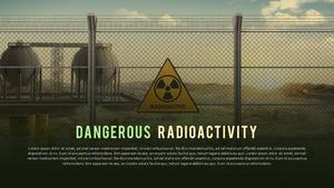 방사능 위험 (화학) 피피티 템플릿