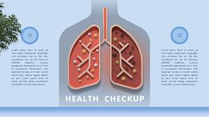 건강검진 (의료, 의학) PPT 템플릿