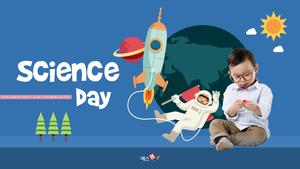 과학의 날 (Science day) 피피티 템플릿