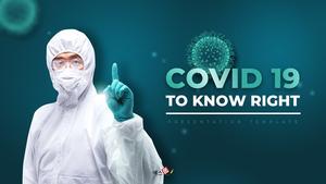 코로나바이러스 바로 알기 (Covid 19) PPT 배경템플릿
