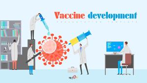 백신 개발 (과학, 의학) PPT 템플릿
