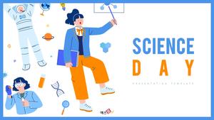 과학의 날 배경 PPT 템플릿 (Science)