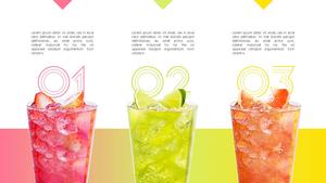 Fruit Drink (과일주스) 배경 디자인