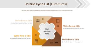 Puzzle 주기형 다이어그램 (가구)