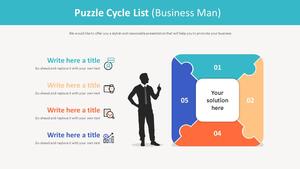 퍼즐 사이클 주기형 List (비즈니스맨)