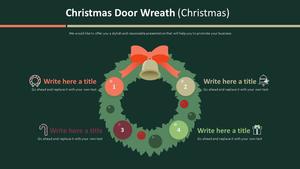 화환장식 행렬형 Smart Art (크리스마스)