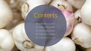 면역력을 높여주는 식품 (Food) PPT 표지