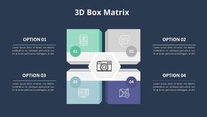 3D 박스 행렬형 다이어그램