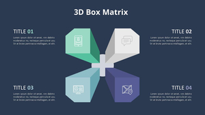 3D Box 행렬 다이어그램