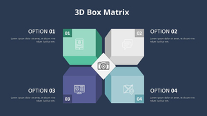 입체 박스 Matrix Diagram