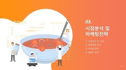 도.소매업 자금조달용 사업계획서 (식자재납품) - 섬네일 15page