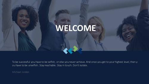 비즈니스 서비스(Business Service) 파워포인트 템플릿 - 섬네일 2page