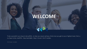 비즈니스 서비스(Business Service) 파워포인트 템플릿 #2