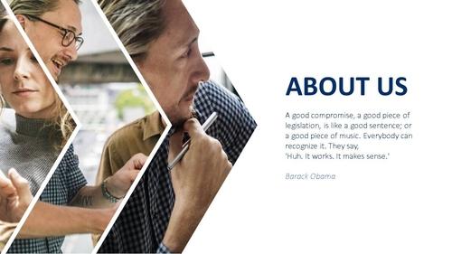 비즈니스 서비스(Business Service) 파워포인트 템플릿 - 섬네일 3page