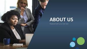비즈니스 서비스(Business Service) 파워포인트 템플릿 #4