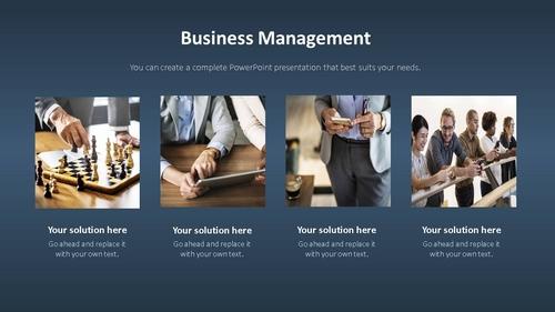 비즈니스 서비스(Business Service) 파워포인트 템플릿 - 섬네일 5page