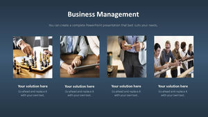 비즈니스 서비스(Business Service) 파워포인트 템플릿 #5