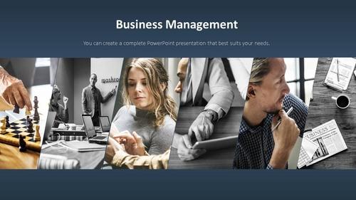 비즈니스 서비스(Business Service) 파워포인트 템플릿 - 섬네일 6page