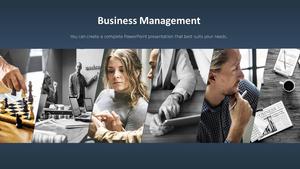 비즈니스 서비스(Business Service) 파워포인트 템플릿 #6