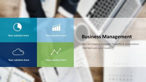 비즈니스 서비스(Business Service) 파워포인트 템플릿 - 섬네일 23page