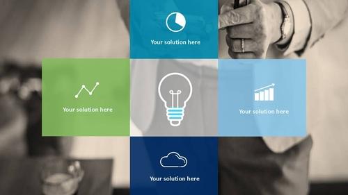 비즈니스 서비스(Business Service) 파워포인트 템플릿 - 섬네일 24page