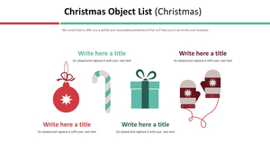 Christmas 오브젝트 목록 다이어그램 (크리스마스)