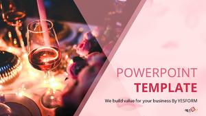 와인 파티 (Wine Party) PPT표지 디자인